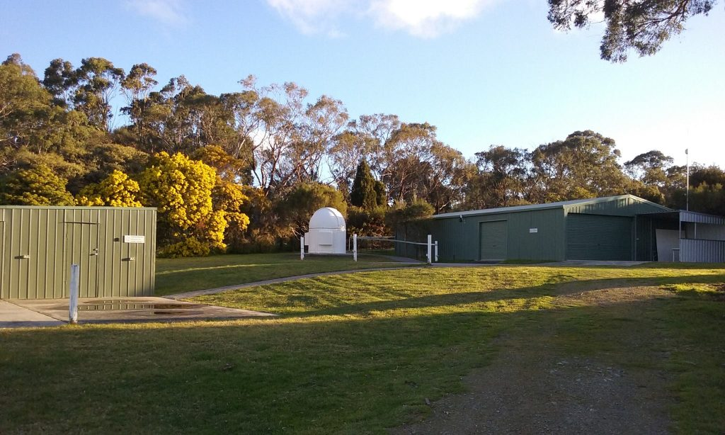 View of Mt Martha Observatory