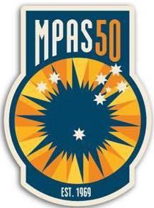 MPAS 50 year logo