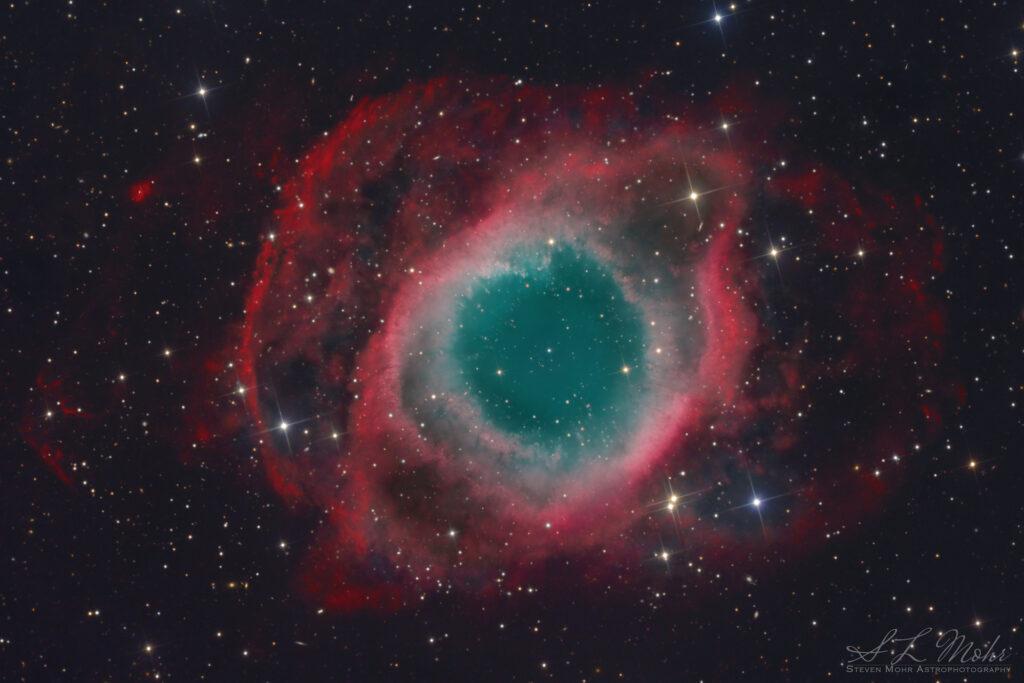 Helix Nebula by Steve Mohr